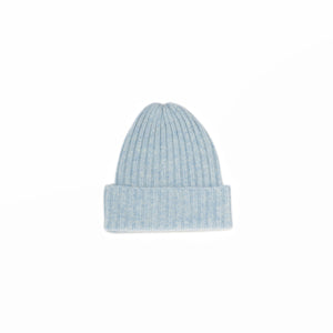 KNIT CAP - Light Blue