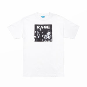 RAGE LP1 TEE - White