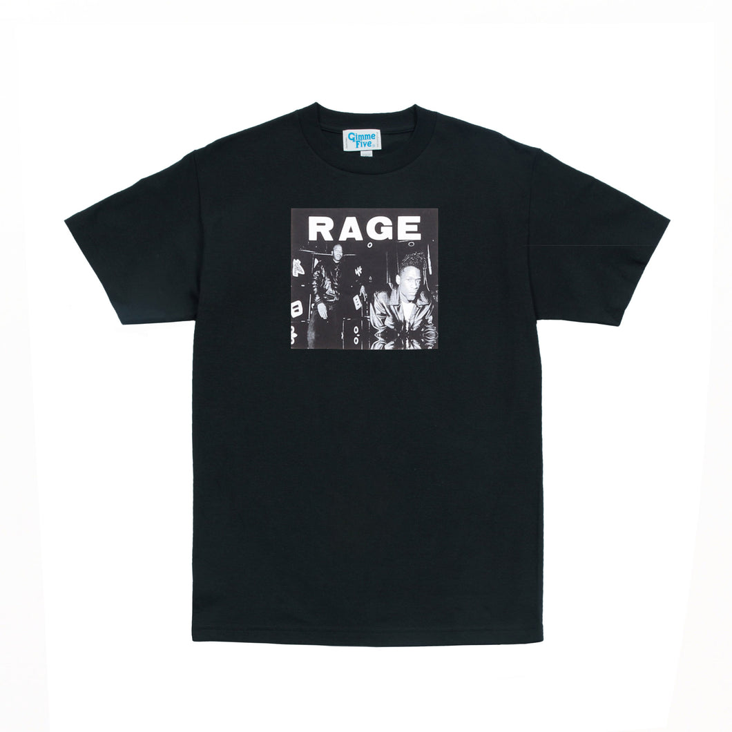 RAGE LP1 TEE - Black