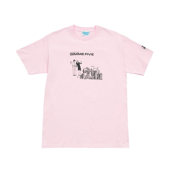 BOILED S/S TEE - Pink