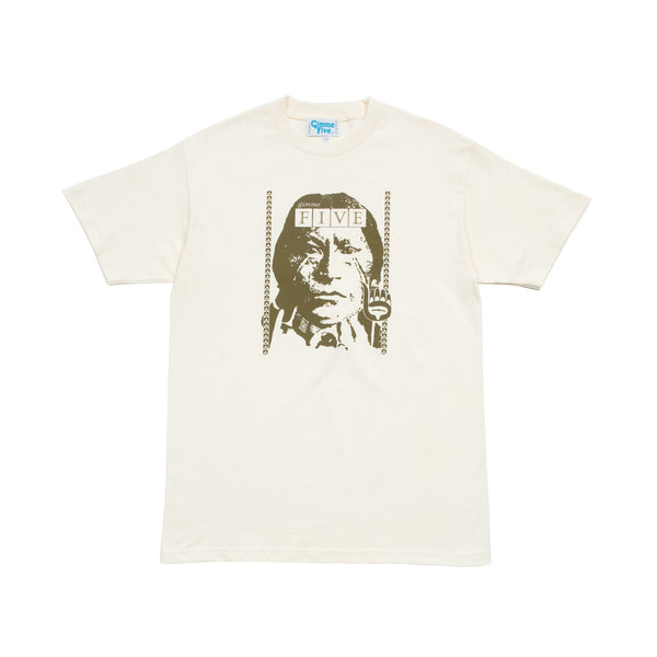 CULT S/S TEE - Natural