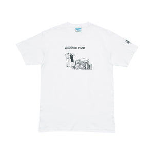 BOILED S/S TEE - White