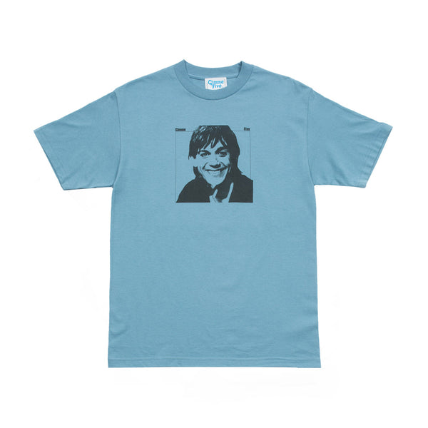 IDIOT S/S TEE - Lt.Blue