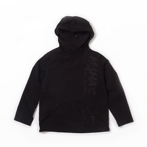 2020RISHI TECH CRACKLE JACKET - Black Bamboo