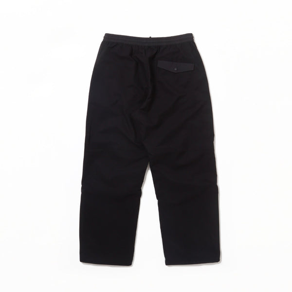 VEG DYED SNOCORD TRACK PANTS - Black Bamboo