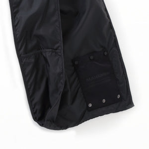 ROLLAWAY SHOPPING BAG - Black