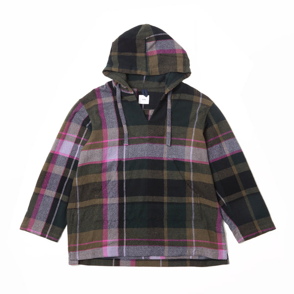 LONG MEXICAN PARKA - Green