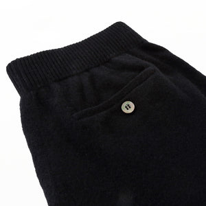 KNIT PANTS - Black