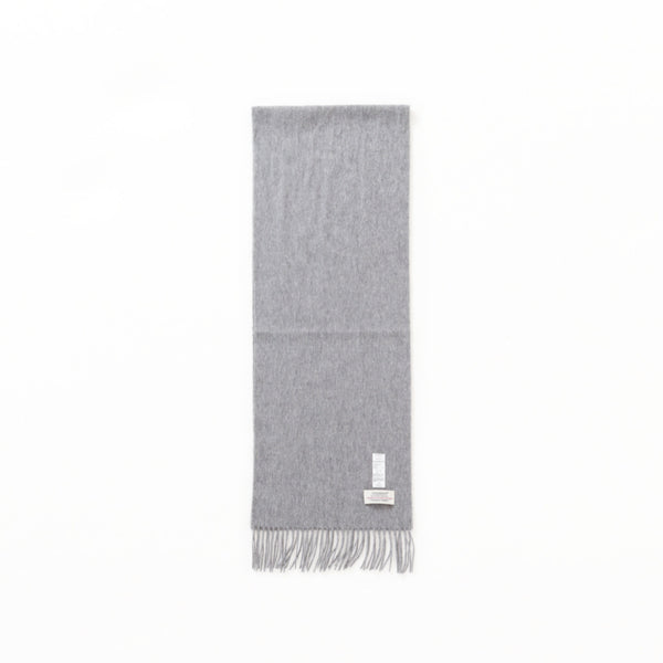 KNIT SCARF - Gray