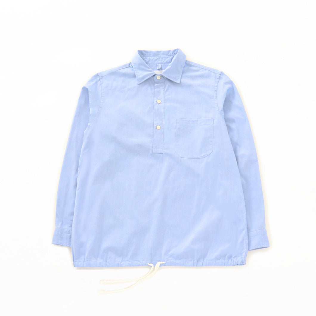 HEM STRING SHIRT - Blue