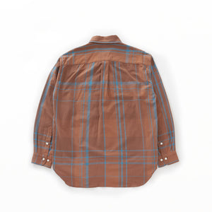 BAGGY SHIRT - Brown