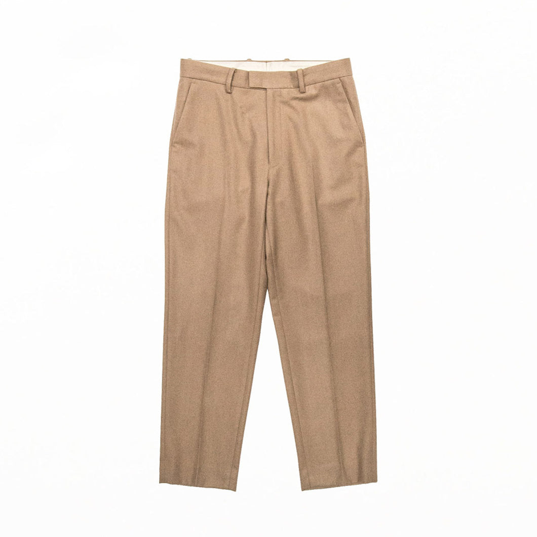 TAPERED TROUSER - Camel