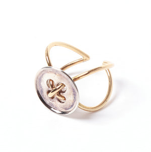 JUDY BLAME Button wire ring
