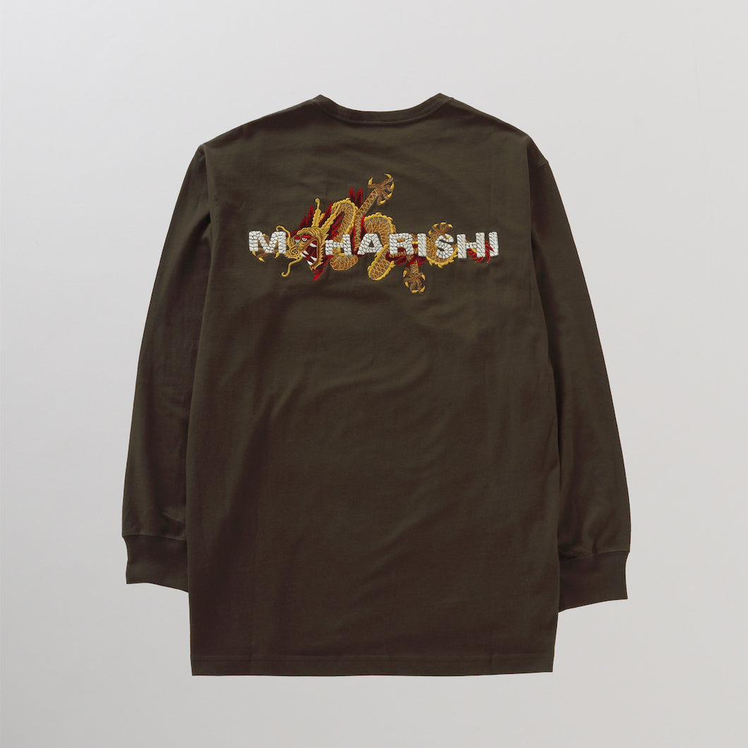 GOLDEN SUN DRAGON L/S T-SHIRT