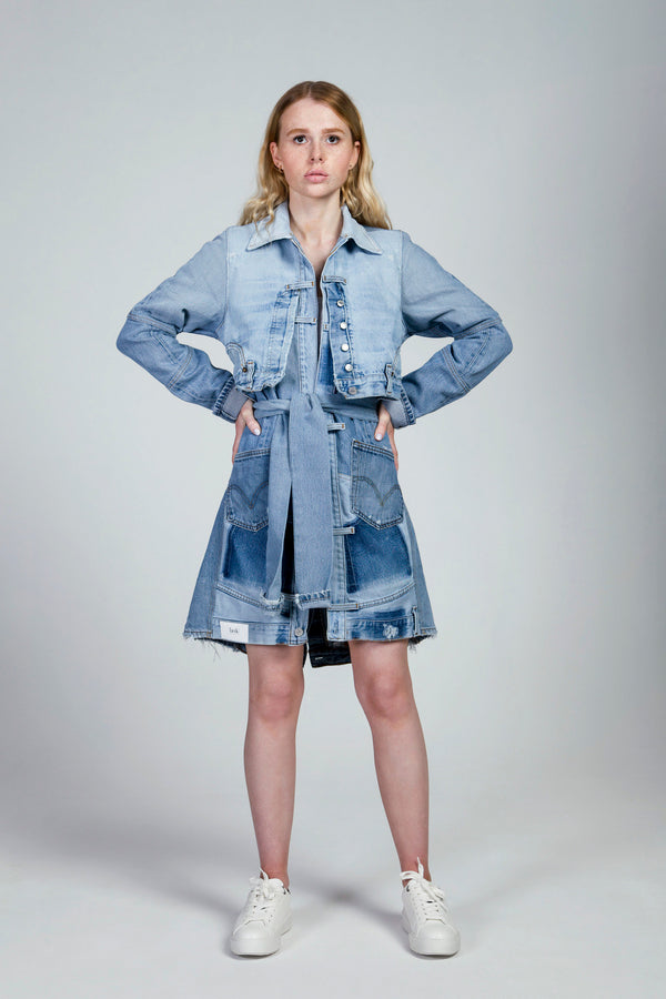 Light Blue Denim Coat