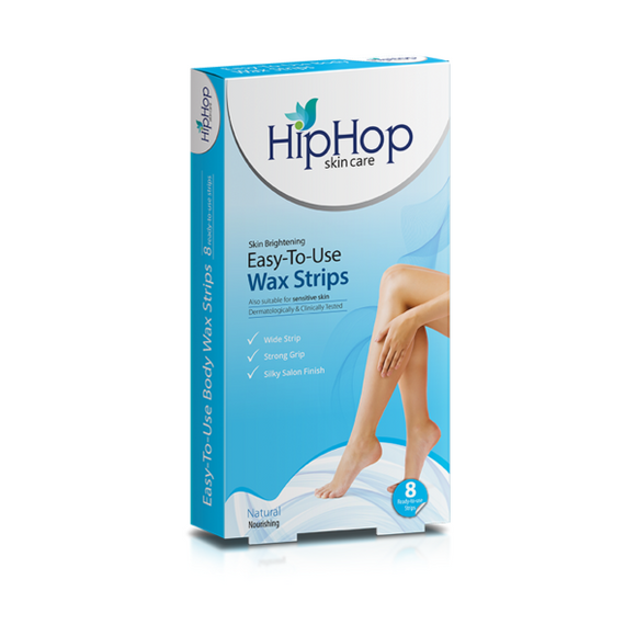 HipHop Natural Body Wax Strips