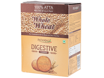 Patanjali Digestive Whole Wheat Cookies