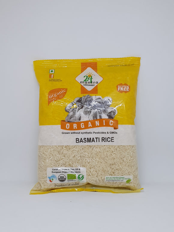 24 Mantra Organic Basmati Rice White