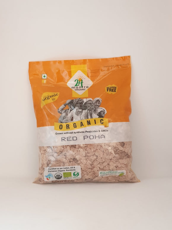 24 Mantra Organic Red Poha