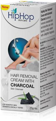 HipHop Hair Removal Cream with Activated Charcoal Cream