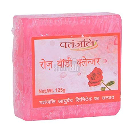 Patanjali Rose Body Cleanser (Soap)