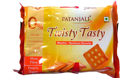 Patanjali Twisty Tasty Biscuits