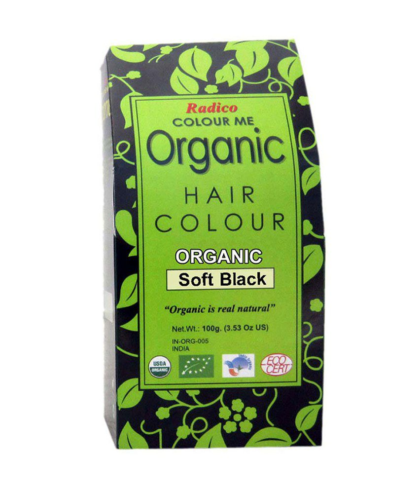 Radico Organic Hair Color Soft Black