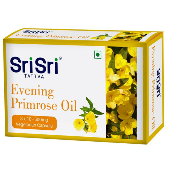 Sri Sri Tattva Evening Primrose Oil Capsules