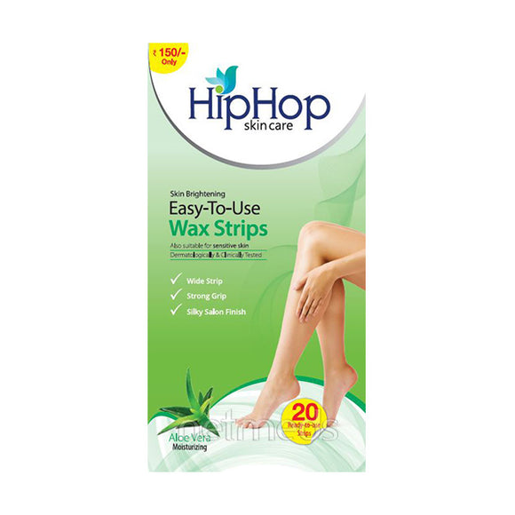 HipHop Aloe Vera Body Wax Strips
