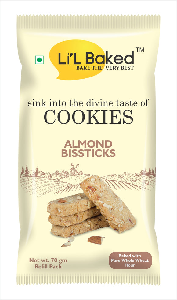 Li'L Baked Almond Bissticks Cookies