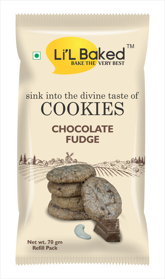 Li'L Baked Chocolate Fudge Cookies