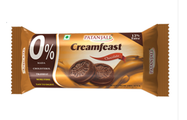 Patanjali Creamfeast Chocolate Biscuits