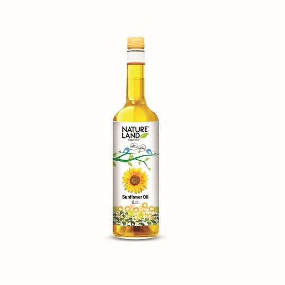 Natureland Organics Sunflower Oil