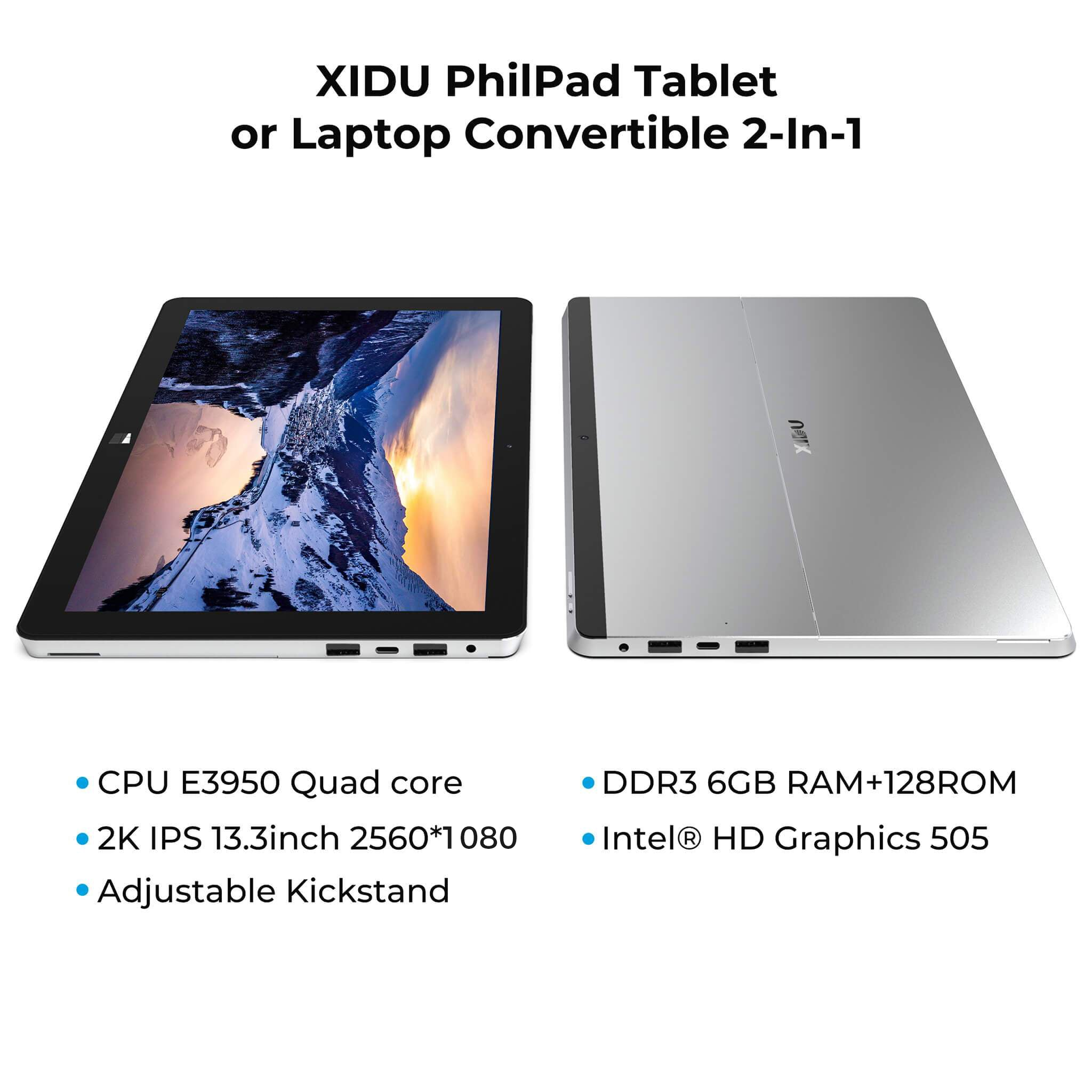 XIDU PhilPad  2-in-1 Touchscreen Laptop
