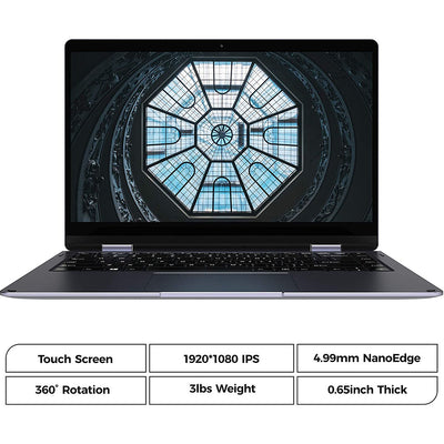 XIDU PhilBook Max 14.1 inch Touchscreen Laptop