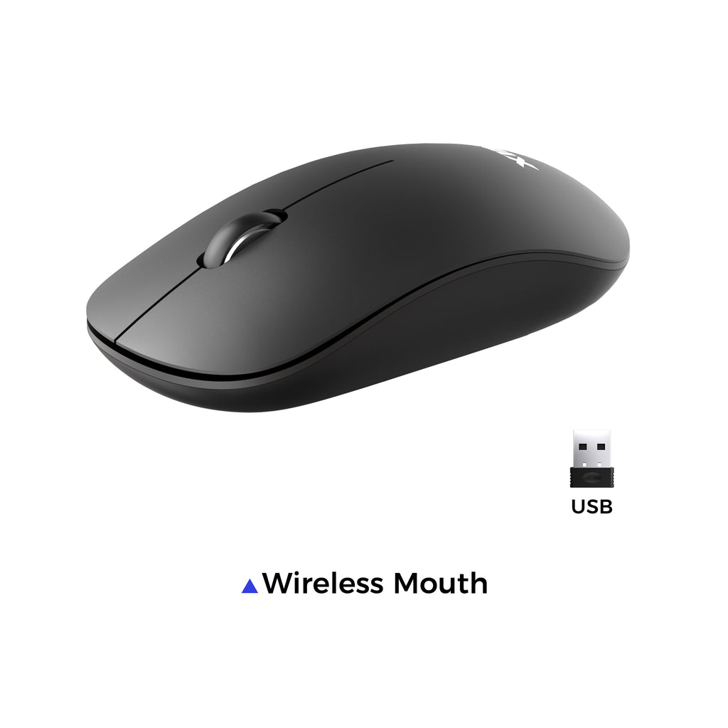 XIDU 2.4G Wireless Mouse 1000 DPI by default