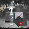 MA-101 Ceramic Detailing Spray + Deluxe Drying Towel - Detailer's Starter Pack