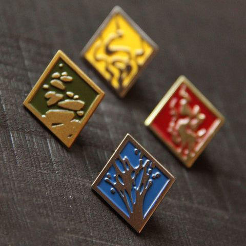Allegiances: Four Nations Pins