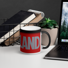 Load image into Gallery viewer, Cleveland Buck Nut Matte Black Magic Mug