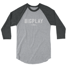 Load image into Gallery viewer, BIGPLAY BASEBALL 3/4 sleeve raglan shirt
