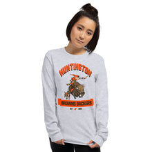 Load image into Gallery viewer, Huntington WV Backers Club Grey Long Sleeve Shirt