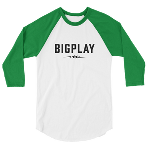 BIGPLAY BASEBALL 3/4 sleeve raglan shirt