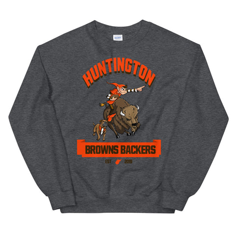 Huntington WV Backers Club Unisex Sweatshirt
