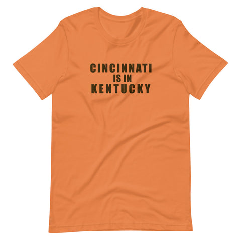 Cincinnati is in Kentucky