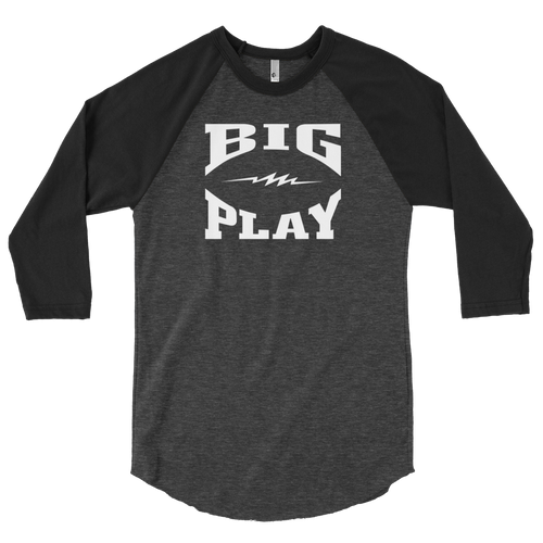 BIGPLAY 3/4 sleeve raglan shirt