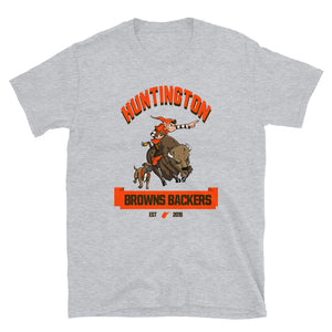 Huntington WV Backers Club Grey Short-Sleeve Unisex T-Shirt