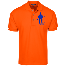 Load image into Gallery viewer, Patriot Uprising™ Embroidered Bold Logo 100% Cotton Pique Knit Polo