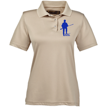 Load image into Gallery viewer, M345W Harriton Ladies' Snap Placket Performance Polo