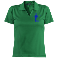 Load image into Gallery viewer, L469 Sport-Tek Ladies' Dri-Mesh Short Sleeve Polo