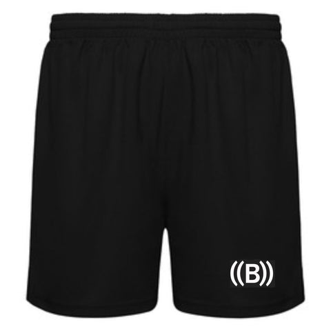 '((B)) Men's Shorts | Black/ White